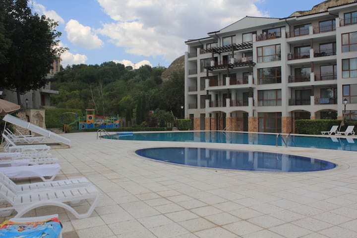Apartment near the beach with a great view - Balchik