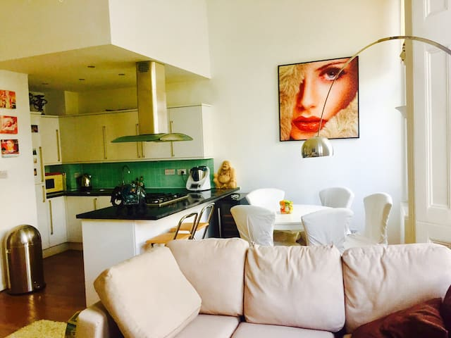 SUPERB bright and quiet flat 2 mins from Hyde Park - London - Apartment