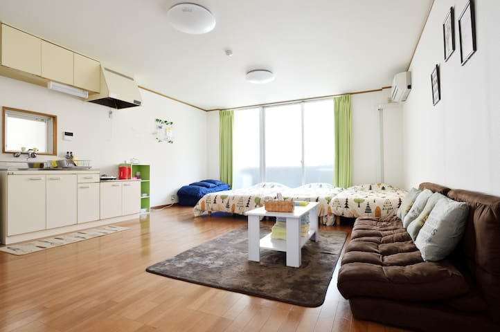 #A Max 5PPL Seaside Osaka Spacious, Clean n' Cozy!