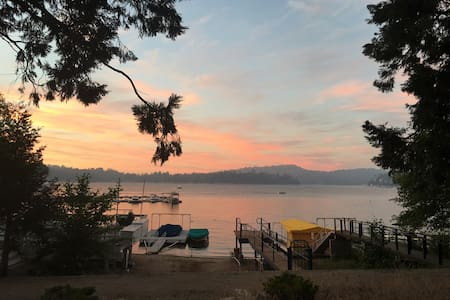 Lake Arrowhead Lakefront Studio -100 ft to village - Lake Arrowhead - Konukevi