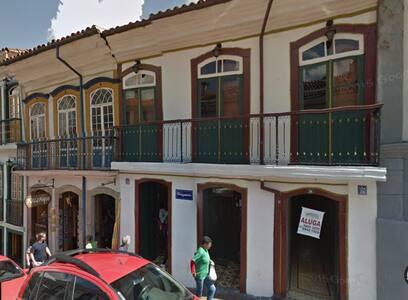 Casa para carnaval no centro de Ouro Preto - Ouro Preto