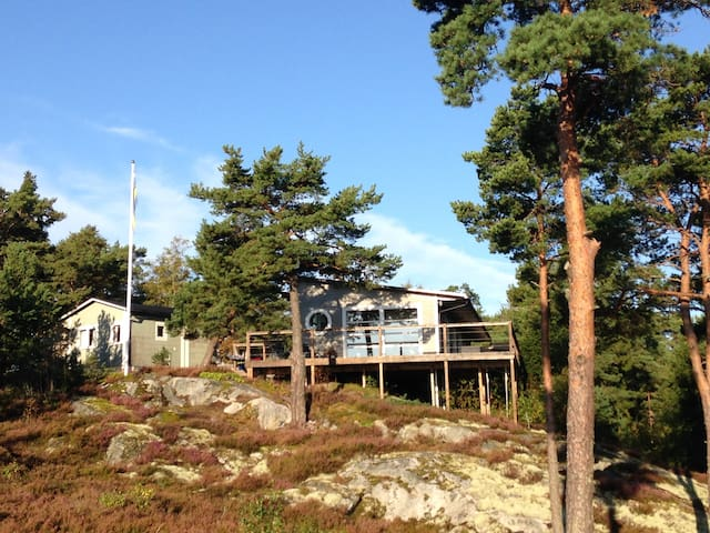 House in archipelago of Stockholm with sea view - Haninge S - 一軒家