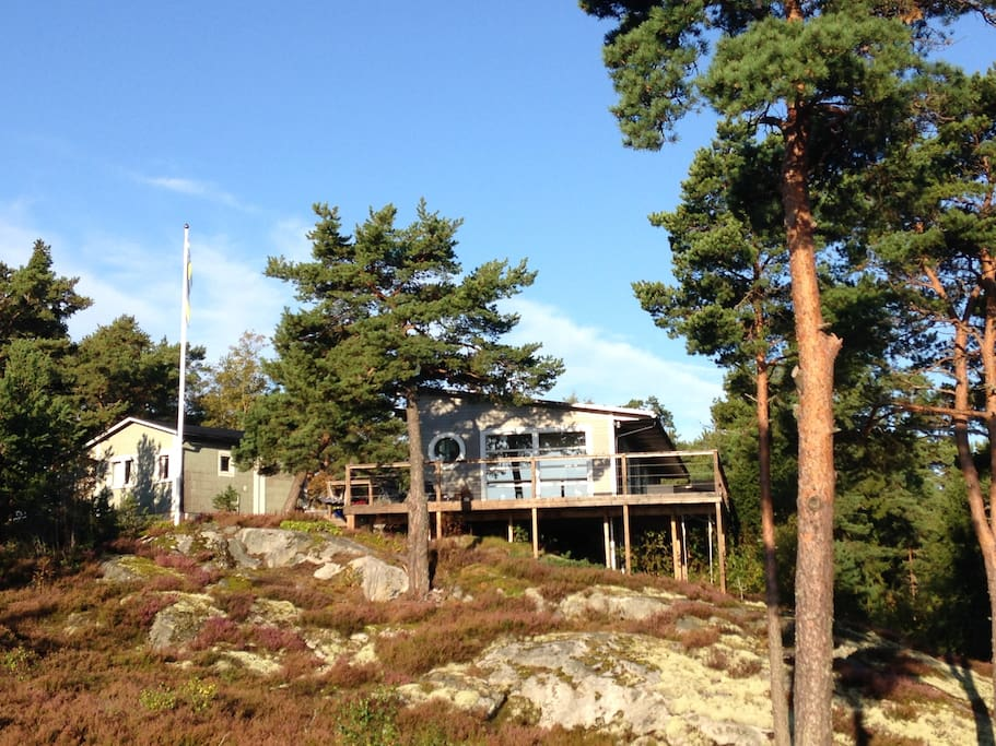 House In Archipelago Of Stockholm With Sea View Hus Att