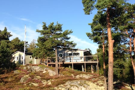 House with see view in archipelago of Stockholm. - Haninge S - 단독주택