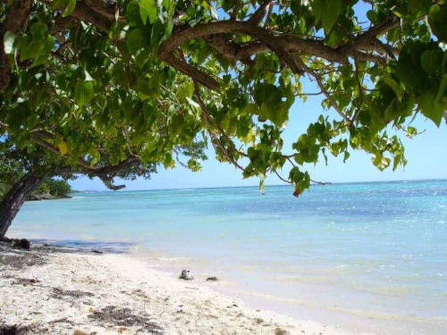 La Coulée c'est une plage par famille. Et la Pointe au bout avec le point de vue exceptionnel depuis le Calvaire.
