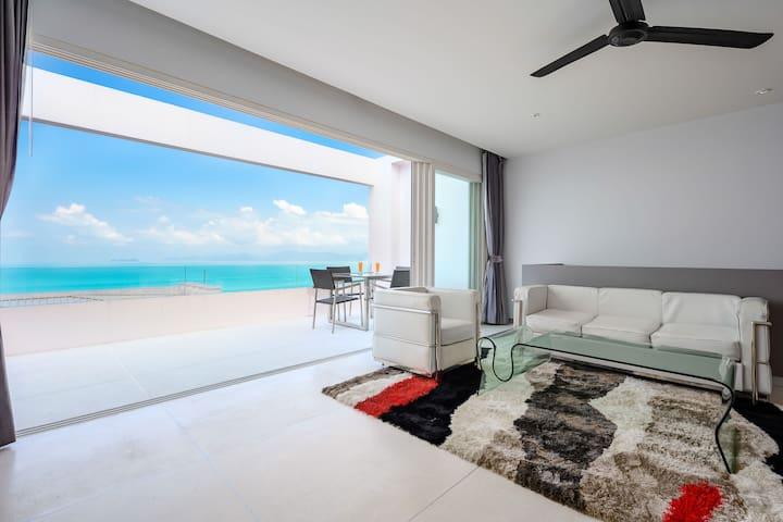 Duplex de luxe vue mer