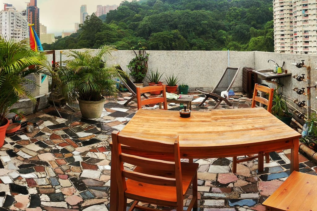 Nice 1 To 2 Bedroom Apartment Rooftop Tai Hang Wohnungen Zur Miete In Hong Kong Hong Kong