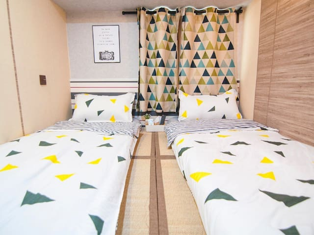 #6 DISCOUNT Cozy Twin Room at TST MTR for 2 Pax
