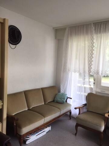 Небольшая квартира в Лейкербаде Швейцар ( App CH)
