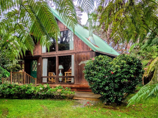 Oma's Hapu'u Hideaway, in the Village, no fees