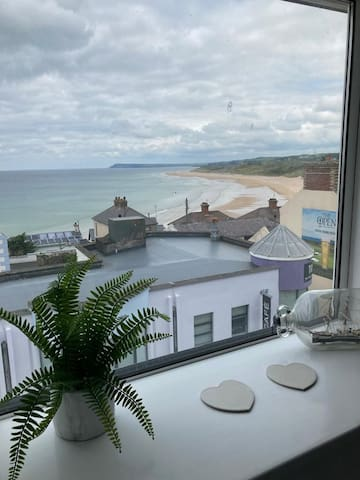 View over East Strand from bedroom