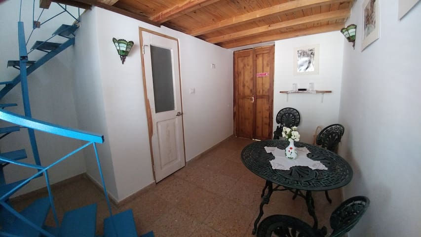 Lofted room for 2 guests at Ca'Sita B&B, lower side