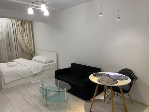 Комфортная однокомнатная квартира в Центре Алматы