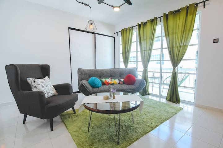 [d'Vogue]#2-3BR Townvilla @ Kampar - Kampar - Apartment