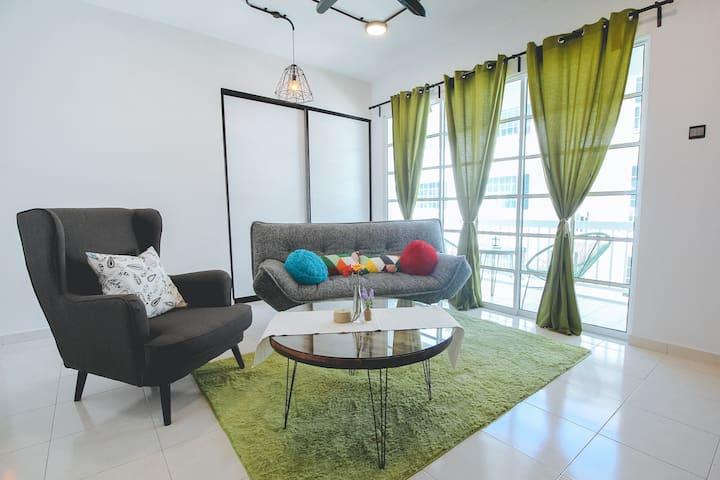 [d'Vogue]#2-3BR Townvilla @ Kampar - Kampar - Appartement