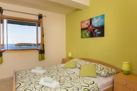 Lovro - 1Bedroom Apartment with Terrace&Sea View - Lozica - 公寓