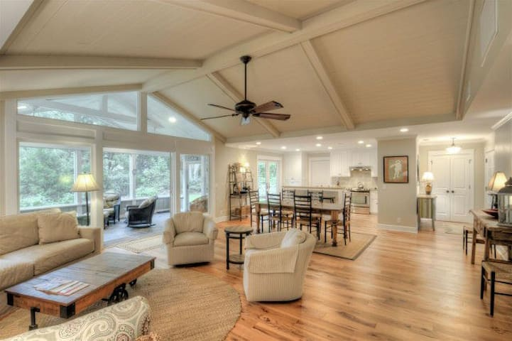 Open Floorplan Designer Beach House - Saint Simons Island - House
