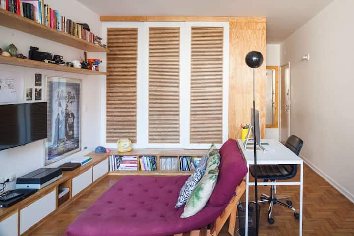 Modern Downtown Studio Apartment Copan (Niemeyer)
