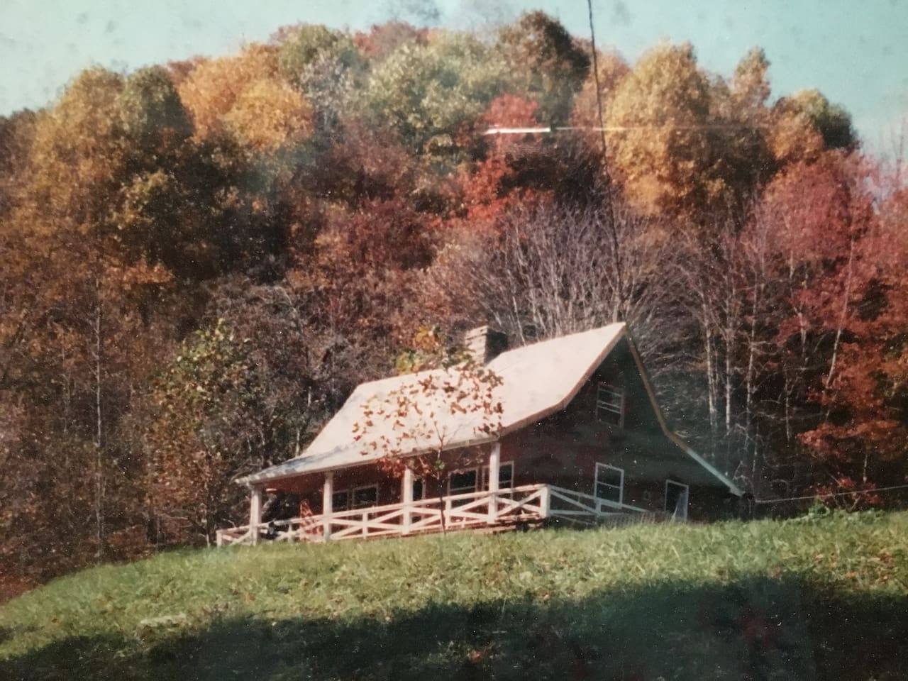 """This cabin, built in 1877 by a local school teacher, has seen many renovations and upgrades through the years. It is the first home built on what is now """"Shootout"""" Mountain."""