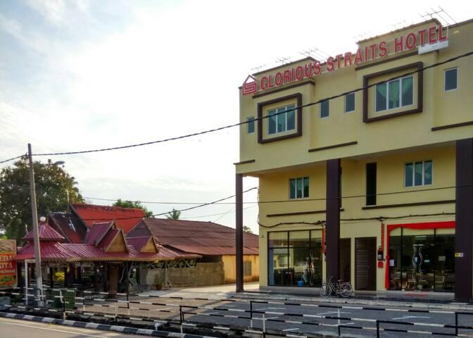 Glorious Straits Hotel- Family suite 6 - Melaka - Lägenhet