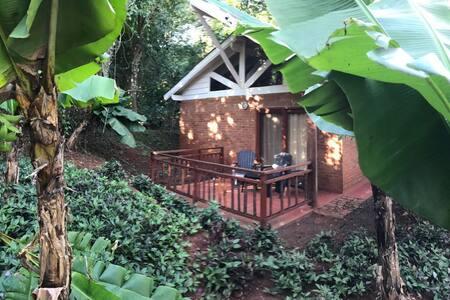 Lodge inmerso en exuberantes jardines (STD)