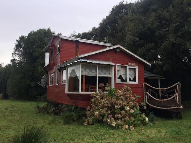Lodge San Nicolás Lago Natri Cabaña Tenio