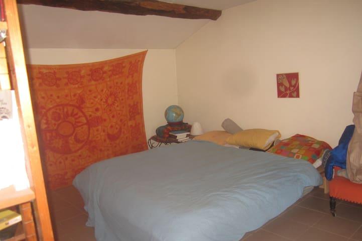 Chambre chez l'habitant en Beaujolais - Saint-Étienne-des-Oullières - House