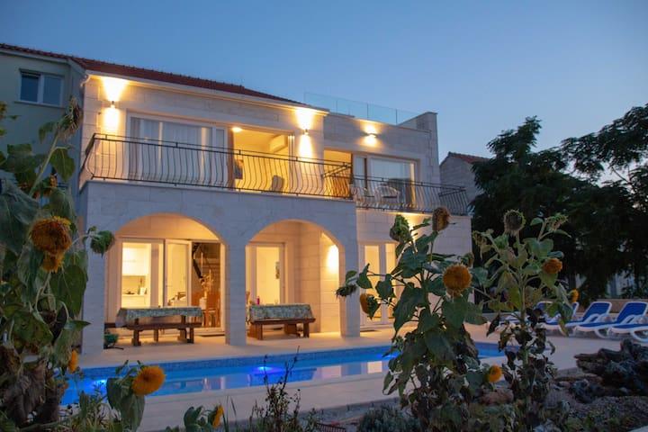 Luxury Croatian Seaside Villa - Korcula Island