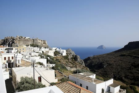 Chora ,Kythira,Apartment of 1st floor with sea vie