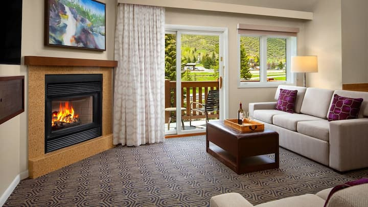 Marriott StreamSide Birch Vail, 1bd, 2bath max 6