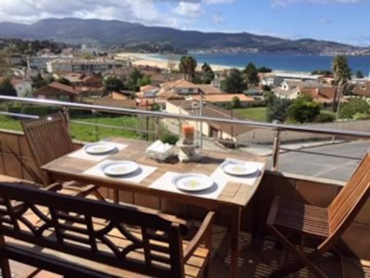 Atico con gran terraza y vistas al mar