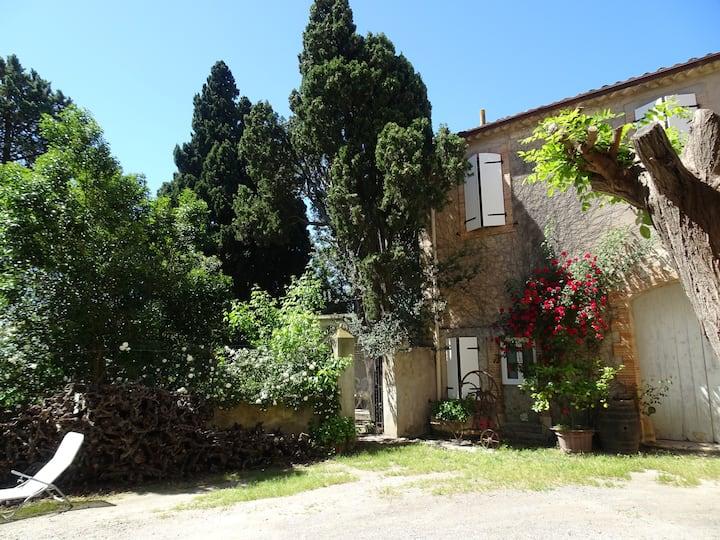 Sigean - Maison domaine viticole, 6 km de la mer