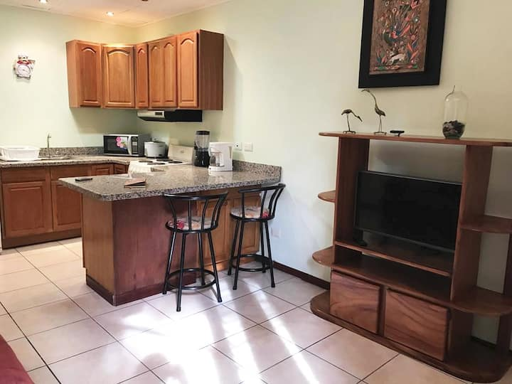 Fully equipped 1br apartment in Escazu