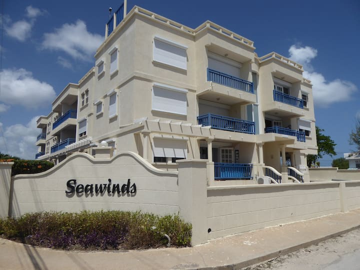 Direct to the beach Barbados Silver Sand Seawinds