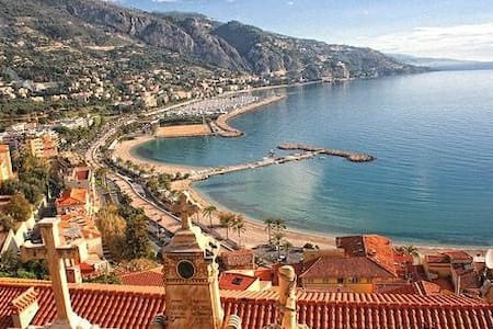 Two bedrooms near Menton beaches - Menton
