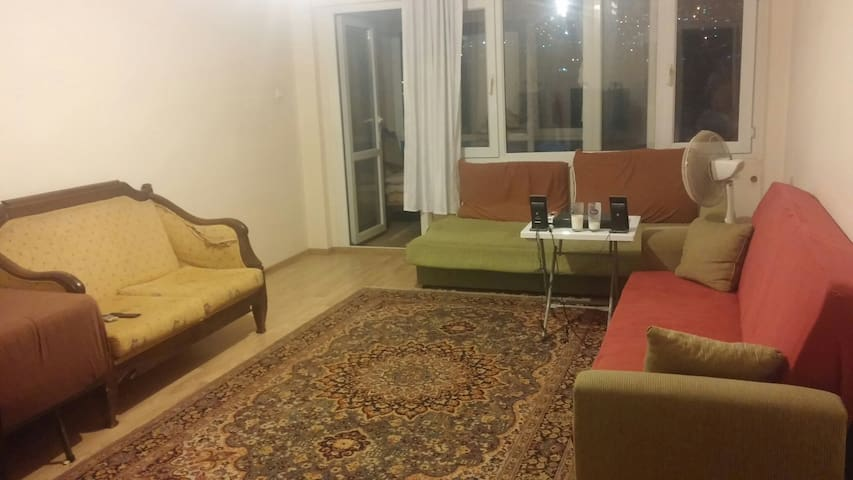 İZMİR BORNOVA KÜÇÜKPARK CHEAP AND COMFORTABLE HOME - Bornova - Appartement
