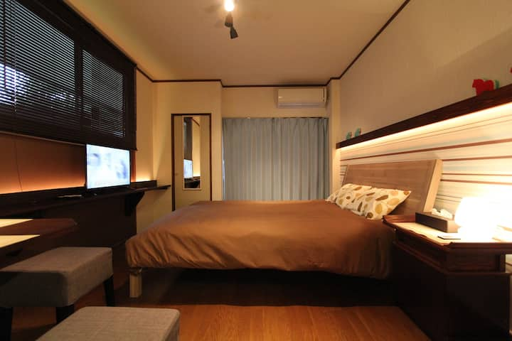 (1) Near Hot Spring, Queen Size Bed, KinugawaOnsen