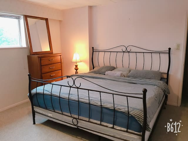 Beautiful King size bedroom