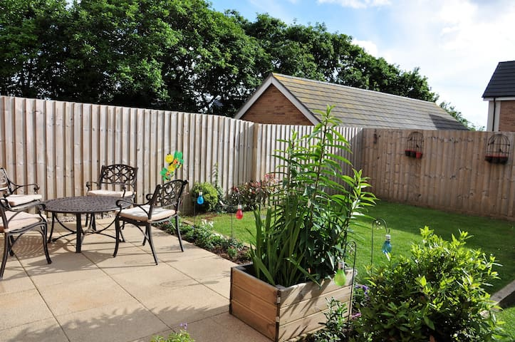 Family-friendly townhouse in Bude, Cornwall
