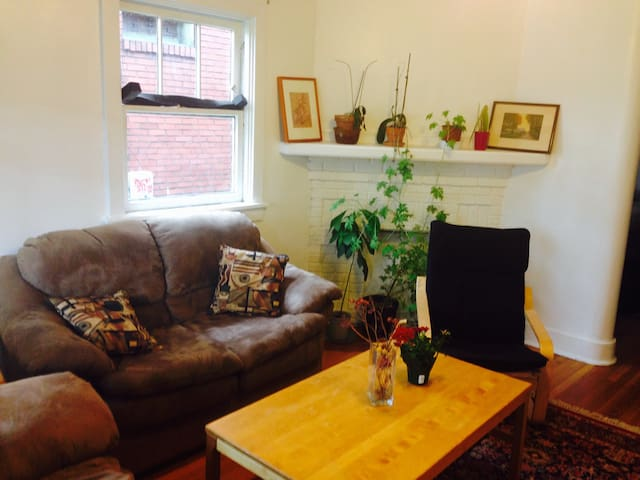 Master (white) bedroom - Pittsburgh - Apartmen