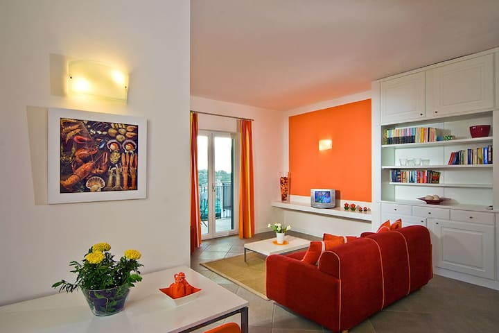 Le Capannelle - Boheme apartment Sorrento Pool - Massa Lubrense - Byt