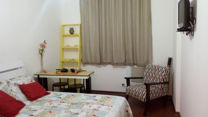 Aconchegante apartamento no Catete