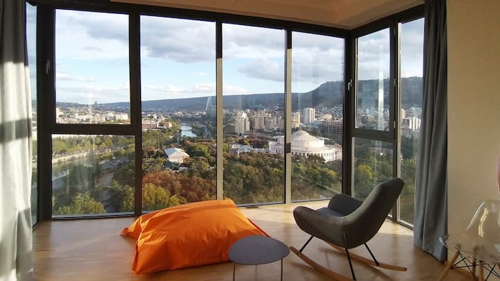 Full Apartment, luxury with stunning view