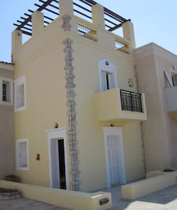 Maisonette with Terrace by the Sea - Magic View!!! - Sitia