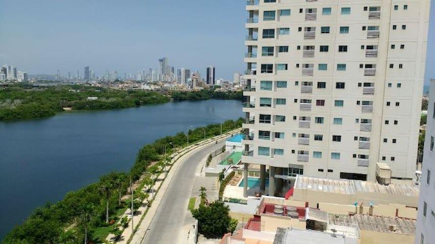 Apto en Cartagena de Indias Colombia, Habitaciones - Cartagena - Departamento