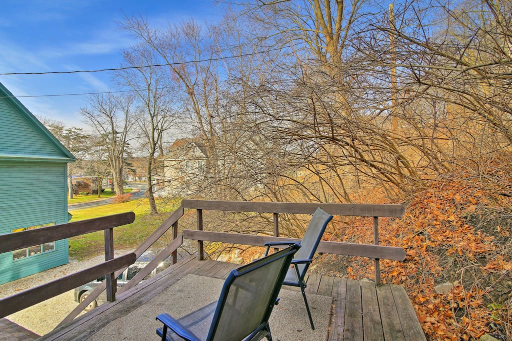 Situated in a peaceful area with a spacious, private deck, this vacation rental home promises a revitalizing retreat!