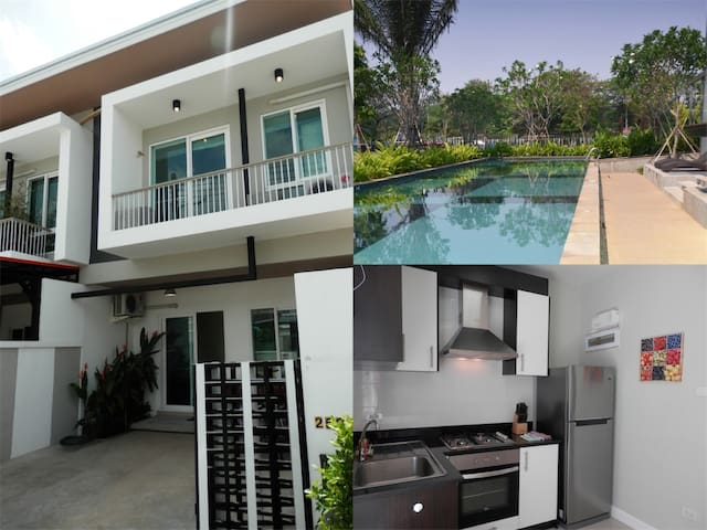 KK69 Lovely 3 bedroom townhouse with free bicycles