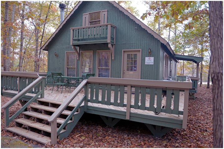 Peaceful quiet cabin with lots of amenities to include our 12 acre fishing lake, salt water pool, putt putt and much more.  #33 - Not Pet Friendly.