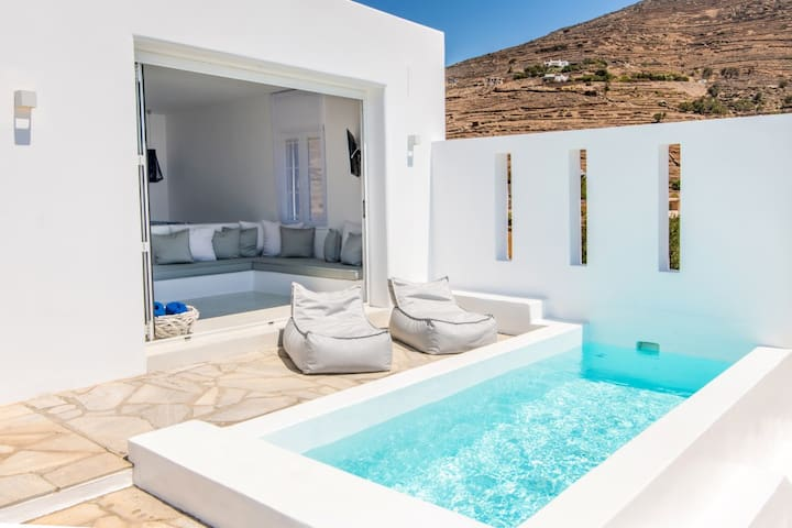 CasaGreek Tinos Suite 1 Bedroom+1 Swimming Pool