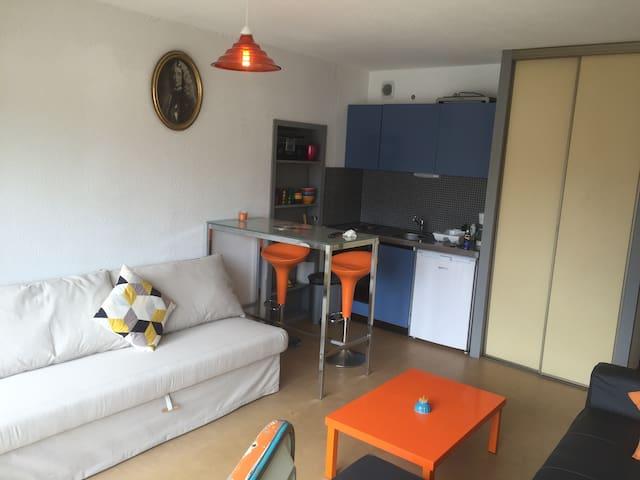 jolie studio sur les dunes de Saint Girons - Vielle-Saint-Girons - Apartmen